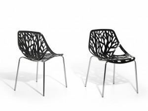 chaises noirs